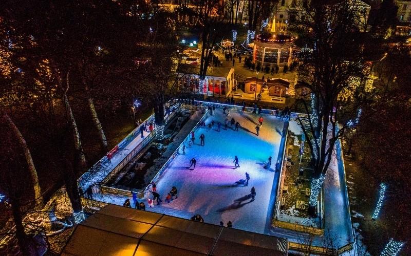 Adventsko klizalište Ice Wonderland™ u Bjelovaru