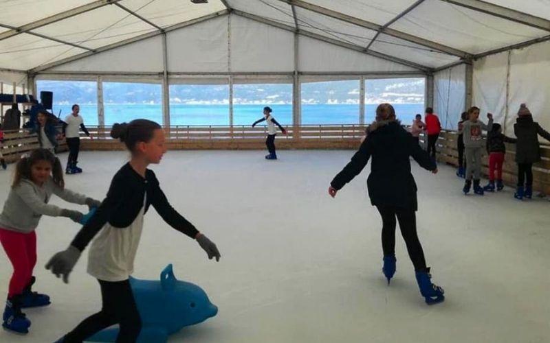 Korčula kliže - Ice Wonderland™ na Adventu na Korčuli 2018