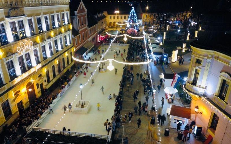 Klizanje u Vinkovcima, najstarijem gradu u Europi - Ice Wonderland™