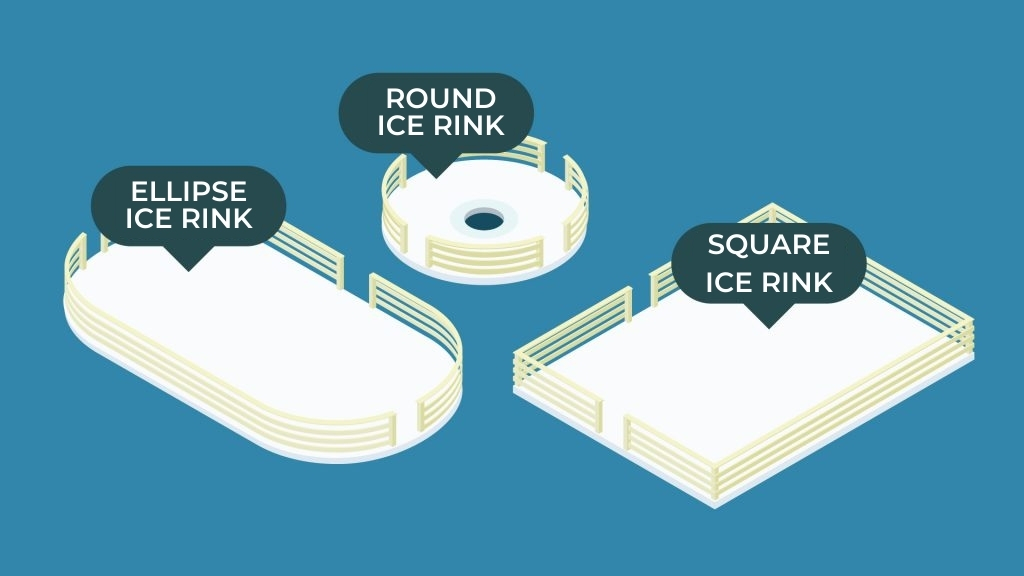 ICE PARKS FOR FUN, SPORTS OR HOLIDAY MOMENTS - MOBILE AND FIXED ICE RINKS