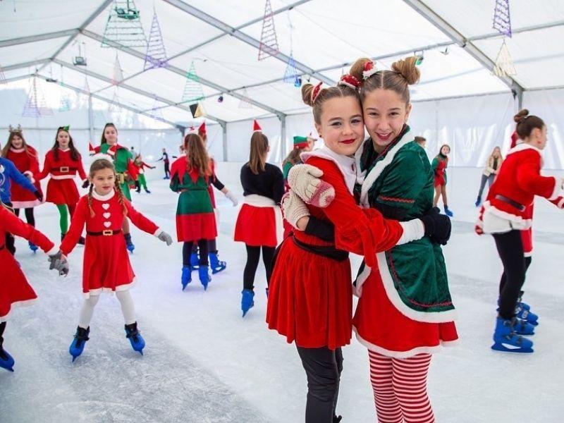 Ice Wonderland zabavni i sportski program - Škola klizanja